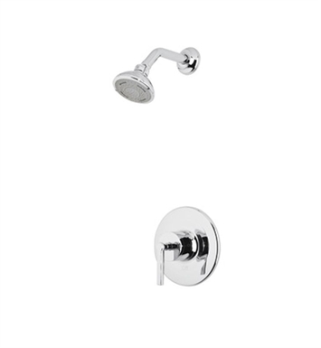Rohl LOKIT20XM-APC Avanti Shower Package With Finish: Polished Chrome And Handles: Avanti Metal Cross Handles