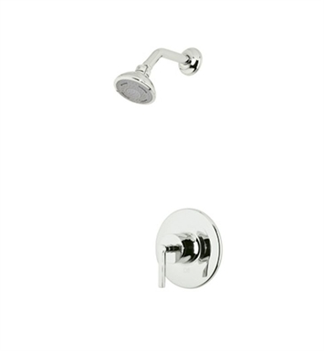Rohl LOKIT20XM-PN Avanti Shower Package With Cross Handle in Polished Nickel