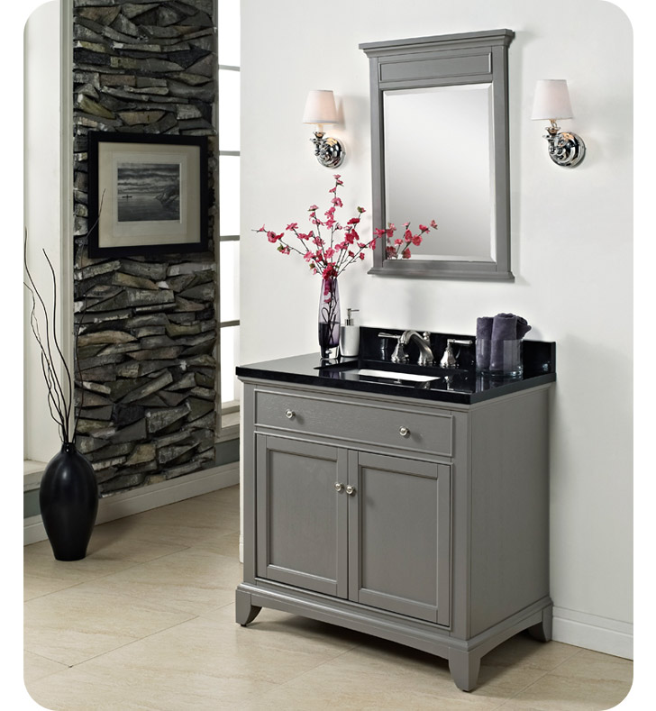 "Fairmont Designs 1504-V36 Smithfield 36"" Modern Bathroom ..."