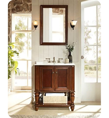 "Fairmont Designs 149-VH30 Stratford 30"" Traditional Bathroom Vanity Open Shelf"