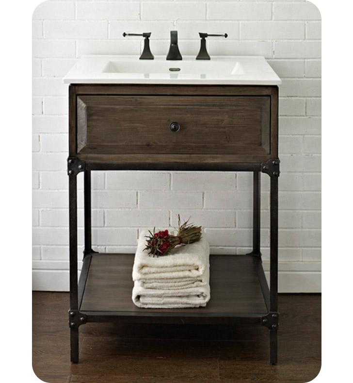 Fairmont Designs 1401 Vh24 Toledo 24 Open Shelf Traditional Bathroom Vanity