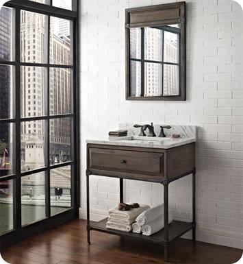 Simple Napa 48quot Open Shelf Vanity  Sonoma Sand  Fairmont Designs  Fairmont