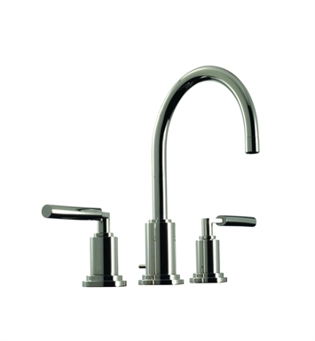 Santec 3520TD70 Modena Widespread Lavatory Set with TD Style Handles With Finish: Polished Nickel <strong>(USUALLY SHIPS IN 1-2 WEEKS)</strong>