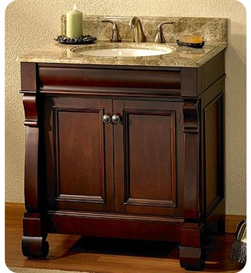 "Fairmont Designs Victoria 30"" Traditional Bathroom Vanity"