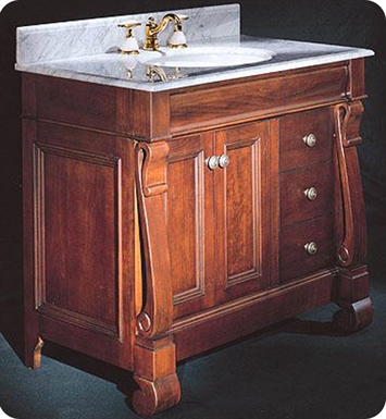 "Fairmont Designs 154-V36R Victoria 36"" Traditional Bathroom Vanity Drawer right"