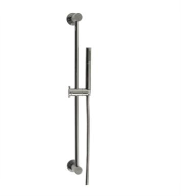Santec 70847075 Hand Shower Set with Slidebar and Single Function Handheld With Finish: Satin Nickel <strong>(USUALLY SHIPS IN 2-3 WEEKS)</strong>