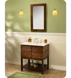 "Fairmont Designs Windwood 30"" Modern Bathroom Vanity"
