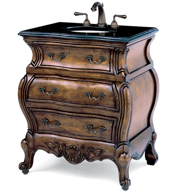"Cole+Co 10.11.275030.27 [INACTIVE]Lorraine 30"" Antique Bathroom Vanity from Premier Collection"