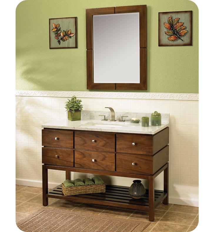 Fairmont Designs 111 Vh48 Windwood 48 Modern Bathroom Vanity