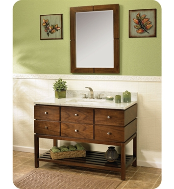 "Fairmont Designs 111-VH48 Windwood 48"" Modern Bathroom Vanity"
