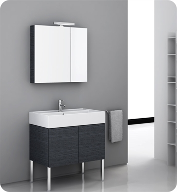 Nameeks SM03 Iotti Modern Bathroom Vanity Set from Smile Collection