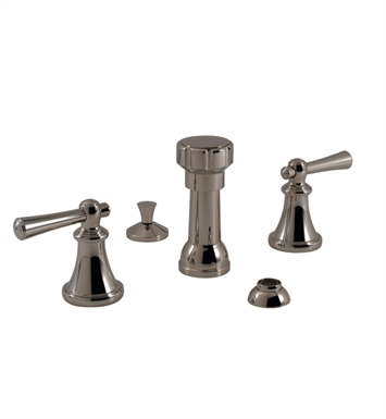 Santec 6570VO88 Vogue Bidet Faucet with VO Style Handles With Finish: Bright Pewter <strong>(USUALLY SHIPS IN 2-4 WEEKS)</strong>