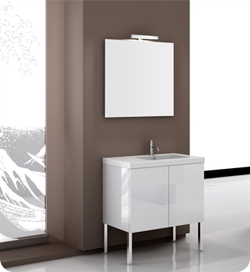 Nameeks SE07 Iotti Modern Bathroom Vanity Set from Space Collection