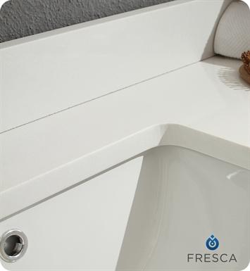 Fresca FCB8119GO Allier 60 Gray Oak Modern Double Sink Bathroom