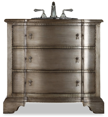 "[INACTIVE]Cole+Co Buchanan 38"" Antique Bathroom Vanity with Countertop from Designer Series Collection"