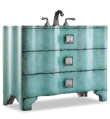 "Cole+Co 11.22.275544.38 [INACTIVE]Chambers 44"" Antique Bathroom Vanity with Countertop from Designer Series Collection"
