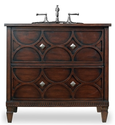 "Cole+Co Dalton 36"" Antique Bathroom Vanity with Countertop from Designer Series Collection"