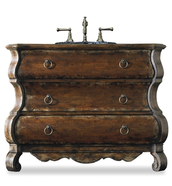 "Cole+Co 11.22.275547.16 [INACTIVE]Edwards 47"" Antique Bathroom Vanity with Countertop from Designer Series Collection"