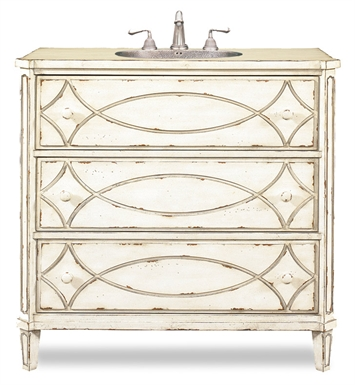 "Cole+Co 11.23.275537.26 [INACTIVE]Ella 37"" Antique Bathroom Vanity with Countertop from Designer Series Collection"