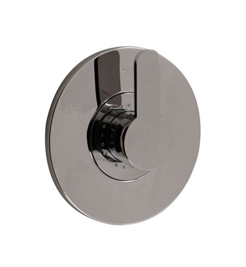 Santec 6631BO10-TM Estate Bravo BO Style Handle with Shower Plate With Finish: Polished Chrome <strong>(USUALLY SHIPS IN 1-2 WEEKS)</strong> And Configuration: Trim Only