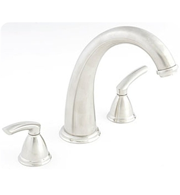 Santec 4150BL75-TM Estate Britani Roman Tub Filler Set with BL Style Handles With Finish: Satin Nickel <strong>(USUALLY SHIPS IN 1-2 WEEKS)</strong>