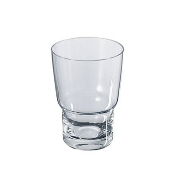 Keuco 02350009000 City 2 Crystal Glass Tumbler