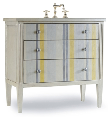 "Cole+Co Seaside 35"" Antique Bathroom Vanity with Countertop from Designer Series Collection"