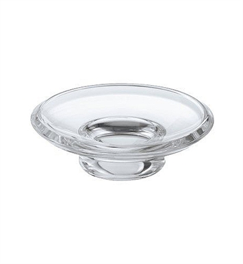 Keuco 00855000100 City 2 Acrylic Glass Soap Dish