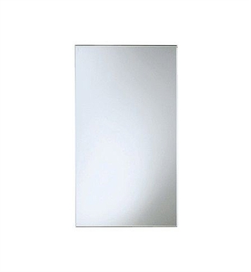 "Keuco 07790002000 City 2 Crystal Mirror With Dimensions: Size: W 17 3/4"" x H 31 1/2"""
