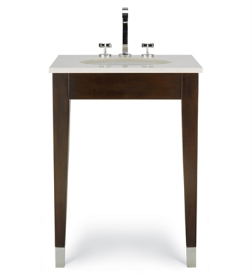"Cole+Co 12.11.275125.08 [INACTIVE]Clarissa 25"" Petite Contemporary Bathroom Vanity from Custom Collection"