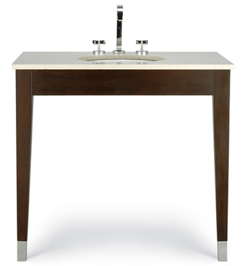 "Cole+Co 12.11.275137.08 [INACTIVE]Clarissa 37"" Large Contemporary Bathroom Vanity from Custom Collection"