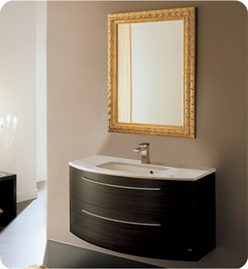 Nameeks NC7-W Iotti ND1 Modern Bathroom Vanity Set from Dune Collection With Finish: Wenge