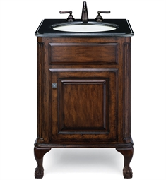 "Cole+Co Estate 25"" Petite Antique Bathroom Vanity from Custom Collection"