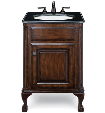 "Cole+Co 12.11.275225.01.EST [INACTIVE]Estate 25"" Petite Antique Bathroom Vanity from Custom Collection"
