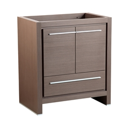 "Fresca FCB8130GO Allier 30"" Gray Oak Modern Bathroom Cabinet"