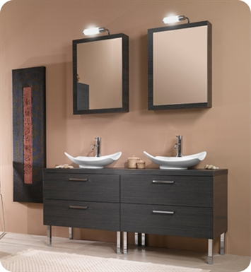 Nameeks Iotti A17 Modern Bathroom Vanity Set from Aurora Collection