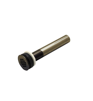 "Rohl 6442EB Non Slotted Grid Drain With 8"" Tailpiece in English Bronze"