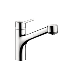 Hansgrohe Talis S 2-Spray Pull-Out Kitchen Faucet
