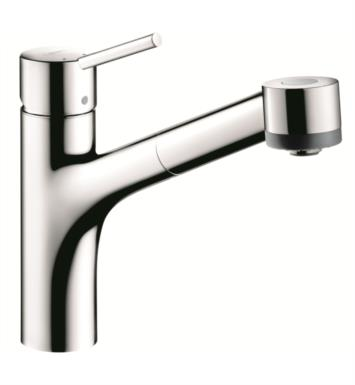 "Hansgrohe 06462 Talis S 10 5/8"" Single Handle Deck Mounted 2-Spray Pull-Out Kitchen Faucet"