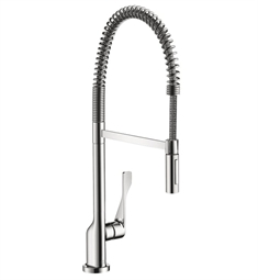 Hansgrohe Axor Citterio 2-Spray Semi-Pro Kitchen Faucet