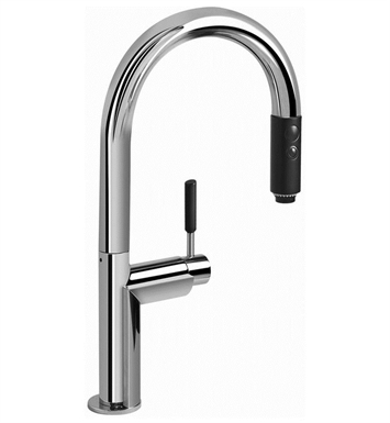 Graff G-4851-PN Oscar Pull Down Kitchen Faucet With Finish: Polished Nickel