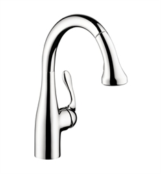 Hansgrohe Allegro E Gourmet 2-Spray Prep Pull-Down Kitchen Faucet