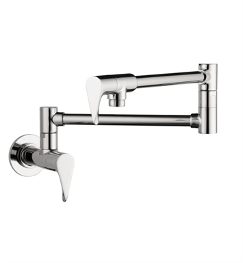 Hansgrohe 39834001 Axor Citterio Wall-Mounted Pot Filler With Finish: Chrome