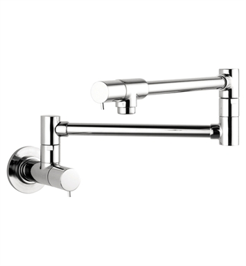 Hansgrohe 04057860 Talis S Wall-Mounted Pot Filler With Finish: Steel Optik