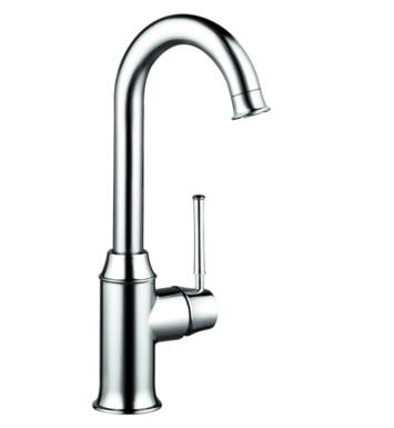 "Hansgrohe 04217830 Talis C 5 1/2"" Single Handle Deck Mounted Aerated Spray High-Arc Bar Kitchen Faucet With Finish: Polished Nickel"