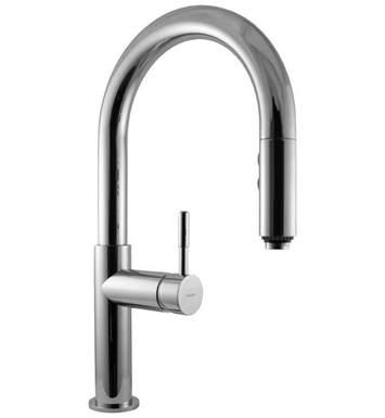 Graff G-4610-LM3-SN Perfeque Pull Down Kitchen Faucet With Finish: Steelnox (Satin Nickel)