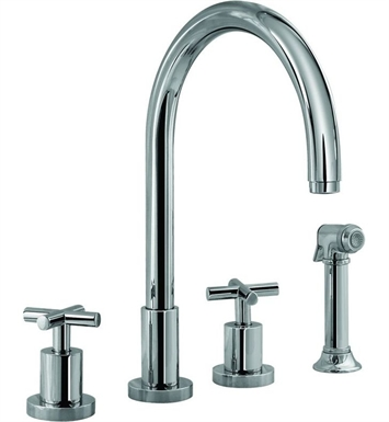 Graff G-4320-C4-PC Infinity Kitchen Faucet With Finish: Polished Chrome