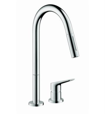 "Hansgrohe 34822 Axor Citterio M 8 3/4"" Single Handle Deck Mounted High-Arc Pull-Down Kitchen Faucet"