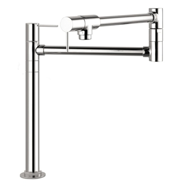 Hansgrohe 10860001 Axor Starck Deck-Mounted Pot Filler With Finish: Chrome