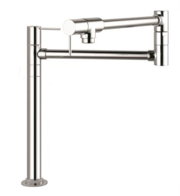 "Hansgrohe 10860 Axor Starck 23 1/2"" Double Handle Deck Mounted Pot Filler with Aerated Spray"